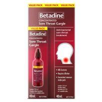 Betadine Antiseptic Sore Throat Gargle 40ml