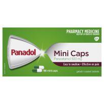 Panadol Mini Caps 96 Capsules