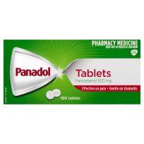 Panadol Paracetamol Pain Relief 500mg 100 Tablets