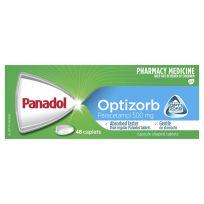 Panadol Optizorb Paracetamol 500mg 48 Caplets