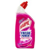 Harpic Fresh Power Toilet Cleaner Tropical Blossom 700ml