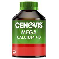 Cenovis Mega Calcium + Vitamin D 200 Tablets