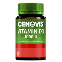 Cenovis Vitamin D3 1000IU 200 Tablets