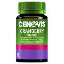 Cenovis Cranberry 30,000 30 Capsules