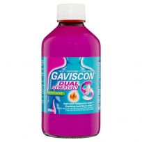 Gaviscon Dual Action Liquid 600ml (Pink bottle)