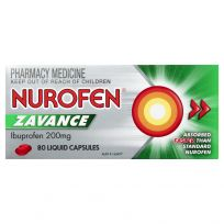 Nurofen Zavance 200mg 80 Liquid Capsules