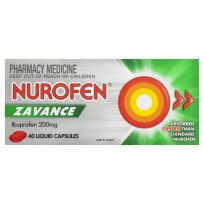 Nurofen Zavance 200mg 40 Liquid Capsules