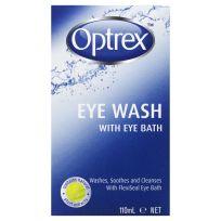 Optrex Eyes Wash with Eye Bath 110ml