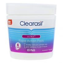 Clearasil Ultra Rapid Action Deep Pore Wipes 65 Pack