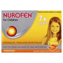 Nurofen For Children Chewable Orange Flavour 24 Pack