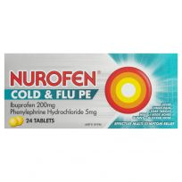 Nurofen Cold & Flu PE 24 Tablets