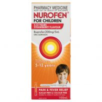 Nurofen For Children 5-12 Years Strawberry 100ml