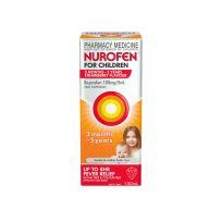 Nurofen For Children 3 Month - 5 Years Strawberry 100ml