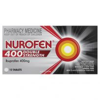 Nurofen Double Strength 400mg Ibuprofen 12 Tablets