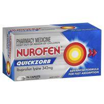 Nurofen Quickzorb 96 Caplets