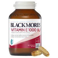 Blackmores Vitamin E 1000IU 100 Capsules