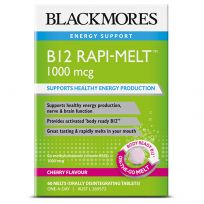 Blackmores Vitamin B12 Rapi-Melt 60 Melt Tablets