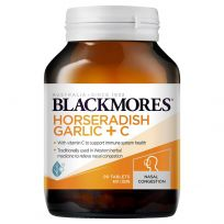 Blackmores Horseradish, Garlic + C 90 Tablets