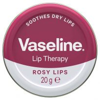 Vaseline Lip Therapy Tin Rosy 20G