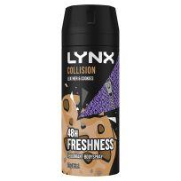 Lynx Fresh Deodorant Aerosol Leather & Cookies 165ml