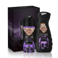 Lynx Leather & Cookies Duo Gift Set