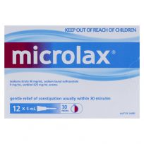 Microlax Enema 5ml 12 Pack