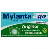 Mylanta 2Go Original 100 Chewable Tablets