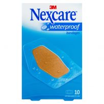 Nexcare Waterproof Bandages Strips Large 10 Pack