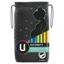 U By Kotex Maternity Pads No Wings 10 Pack