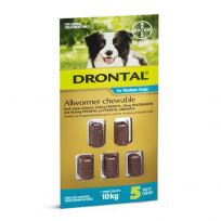 Drontal Medium Dog Allwormer 5 Chews