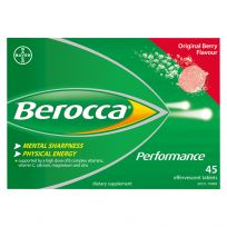 Berocca Performance Original Effervescent Tablets 45 Pack