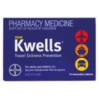 Kwells Adults 12 Tablets