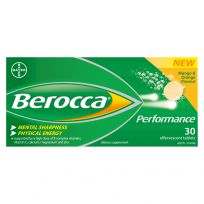 Berocca Performance Mango & Orange Effervescent Tablets 30 Pack