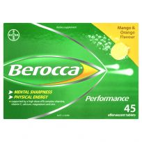 Berocca Performance Mango & Orange Effervescent 45 Tablets