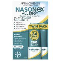 Nasonex Allergy 2 x 140 Metered Dose Nasal Spray