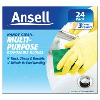 Ansell Handy Clean Disposable Gloves 24 Pack