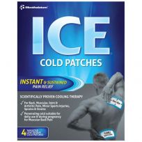 Mentholatum Ice Cold Patch 4 Pack