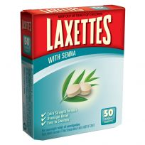 Laxettes Laxative with Senna 50 Tablets