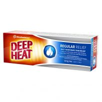 Mentholatum Deep Heat Regular Relief Cream 100g
