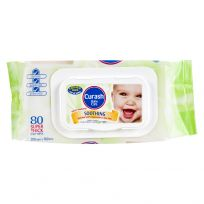 Curash Baby Wipes Soothing Baby 80 Pack