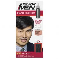 Just For Men Shampoo-In Hair Colour Rich Black