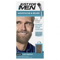 Just For Men Moustache & Beard Brush-In Colour Gel Light Brown
