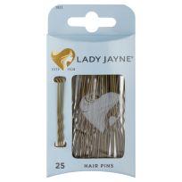 Lady Jayne 2823 Hair Pins Brown 6.25cm 25 Pack