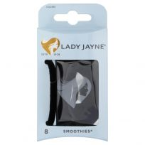 Lady Jayne 17024 Smoothies Elast Black 8 Pack