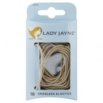 Lady Jayne 2280 Snagless Elastics Blond 18 Pack