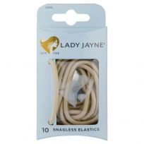 Lady Jayne 2281 Snagless Thick Elastics Blond 10 Pack