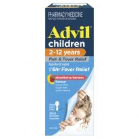 Advil Children 2-12 Years Suspension Banana Flavour 200ml