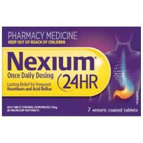 Nexium 24 Hour 20mg 7 Tablets