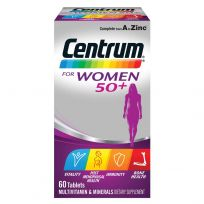 Centrum For Women Ages 50+ 60 Tablets