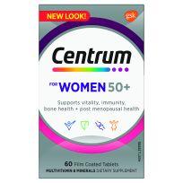 Centrum For Women Ages 50+ 60 Tablets